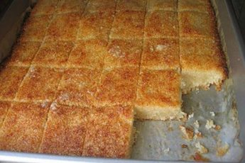 Рецепт нежнейшей и вкусной басбусы. Любимый пирог!